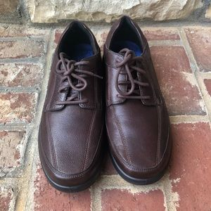 The Walking Company UC24/7 Men's Leather Shoes 10
